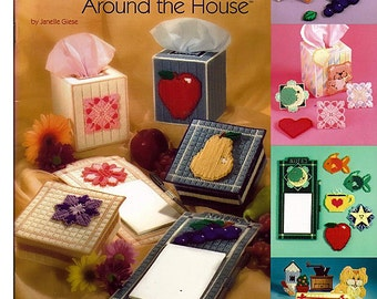 Mix & Match Around The House Plastic Canvas Pattern  The Needlecraft Shop 845520