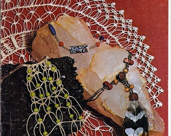 How to Macrame with small cords / Macrame Pattern Book H-233