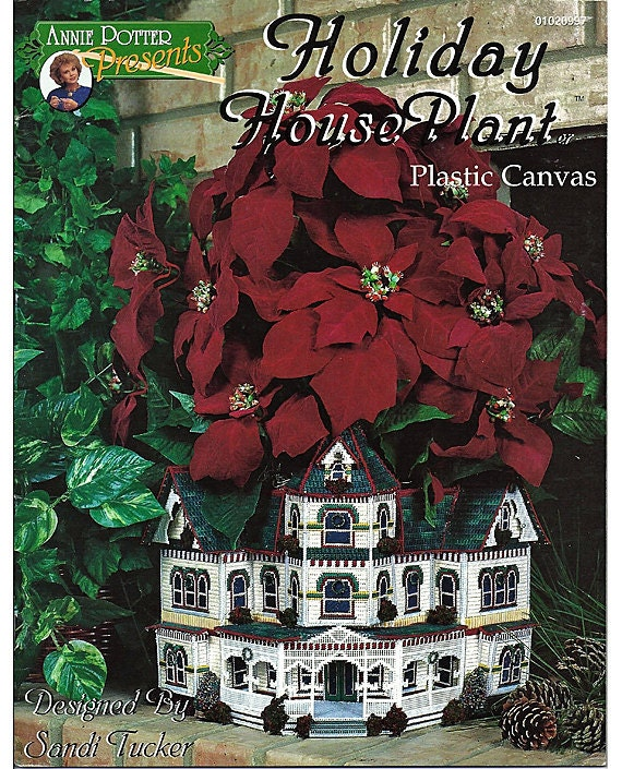 Holiday House Plant Plastic Canvas Pattern Annie Potter