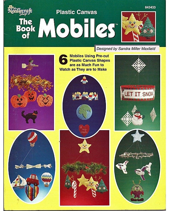 The Book Of Mobiles - Plastic Canvas Patterns - The Needlecraft Shop 843433