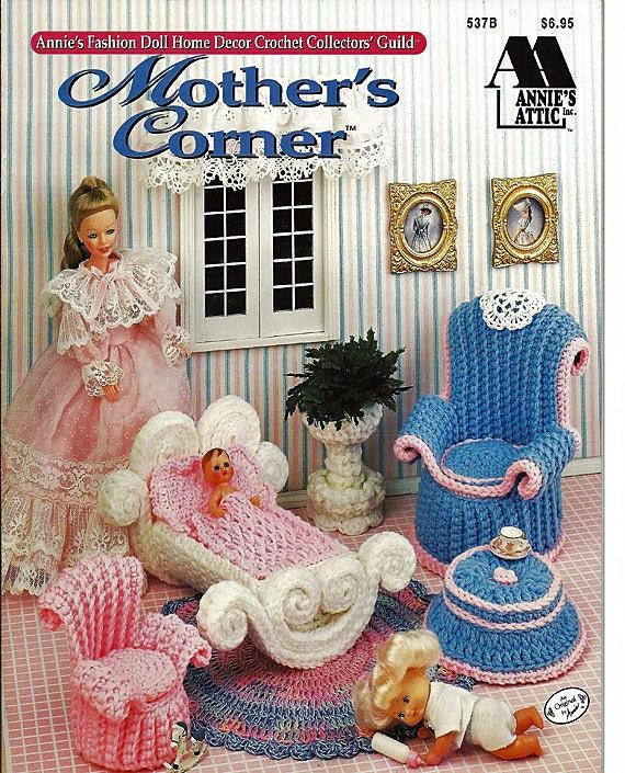 Barbie Furniture Mother S Corner Annies Attic Crochet