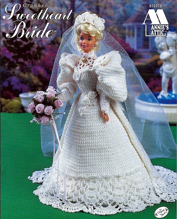 Sweetheart Bride Fashion Doll Crochet Pattern Annies Attic