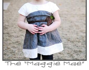 Maggie Mae Tunic/Dress PDF Sewing Pattern