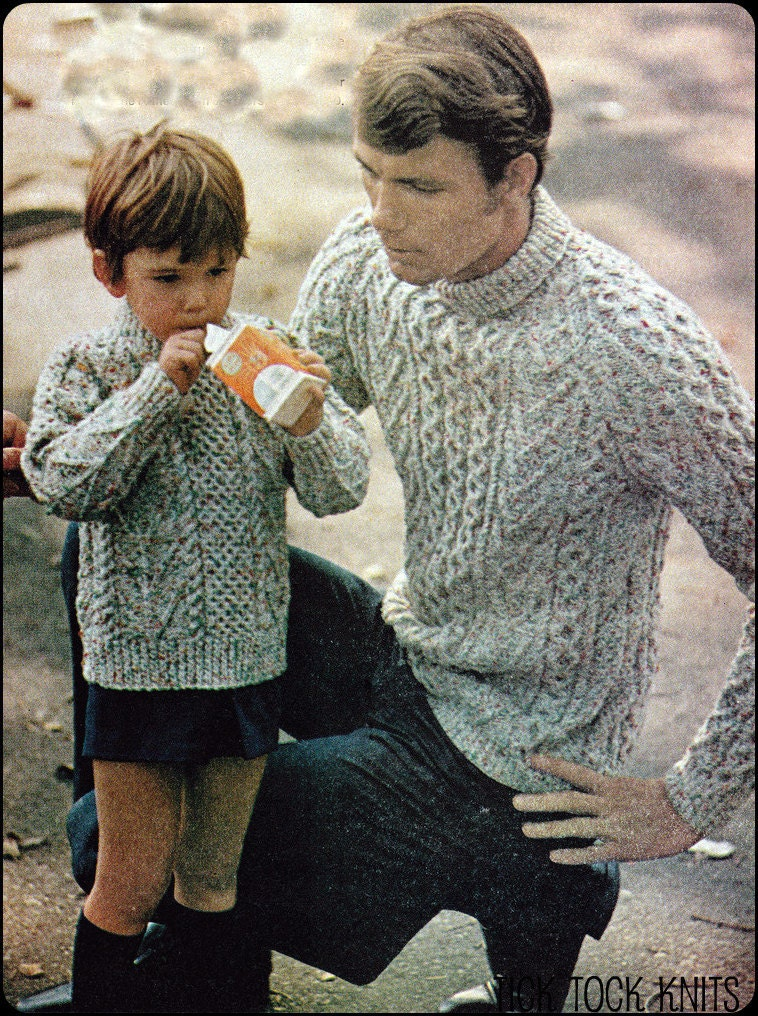 Father Son Sweater 40