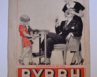 1933 Advertisement for Byrrh