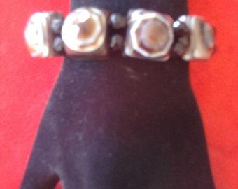 Gorgeous Big Botswana Agate Bracelet