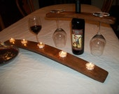 Candle Holder / Wine Barrel Stave Candle Holders