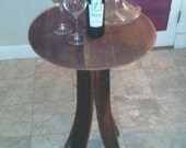 Sale - Pub Table (Made from 100% recycled oak wine barrels)
