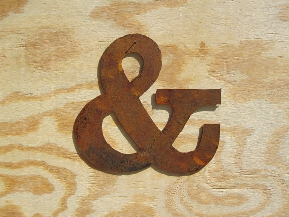 "Metal Ampersand ""&"""