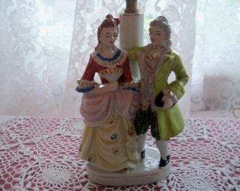 Lamp Andrea Sadek Courting Couple Table Lamp Ca 50's