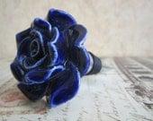 Wine Bottle Stopper - Blue Rose Stopper