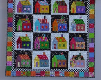 Sought-after Neighborhood wall quilt