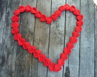 Hearts  - Endless Love - Love  - Valentine - necklace - garland - lanyard - lariat - belt - home decor - gift - mobile - earrings - bracelet