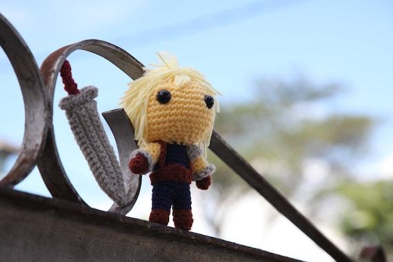 PATTERN: Cloud Strife (Final Fantasy VII) - Amigurumi crochet pattern (PDF File)