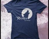Game of thrones t shirt women's -  Winter is coming