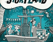 "Off to Storyland 8"" x 10"" Print"