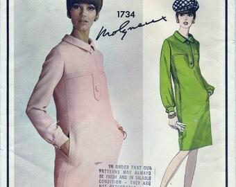 Vogue Paris Original pattern 1734 - Molyneux - with sew-in label