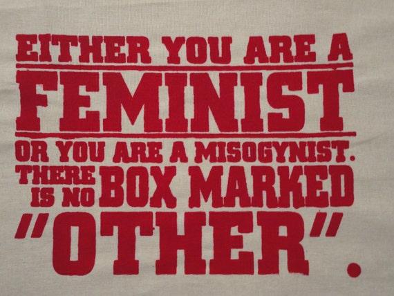 SALE!!! Patch Radical Feminist Political  -Feminist or Misogynist - large