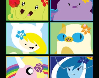 Ladies of Adventure Time Stickers 10pk