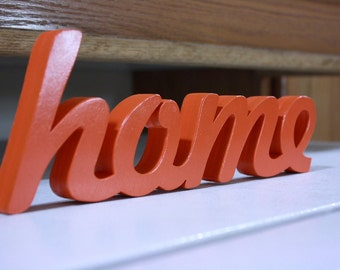 Wooden Home Sign, DIY Wall hanging, Home sign, wooden letters, wooden sign, home decor, wood sign, Housewares, Wall Decor