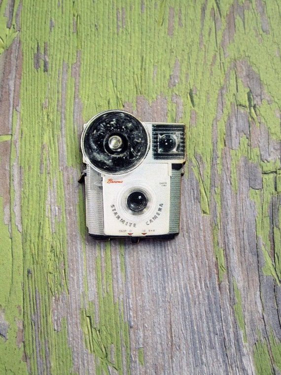 Brownie Camera Brooch