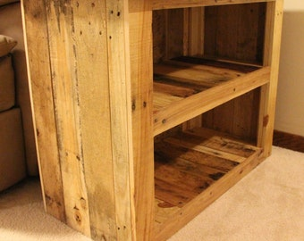 Reclaimed Pallet Wood Furniture - Side Table
