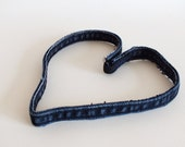 Headband, Recycled Denim Jeans, Adult Size