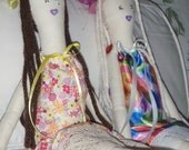 SALE Chere Doll Handmade One-of-A-Kind Soft Long and Lanky