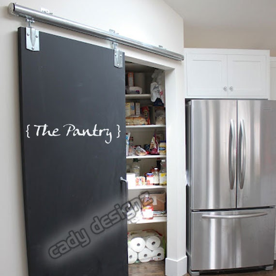 Items Similar To Kitchen Wall Decal Pantry Door Sticker