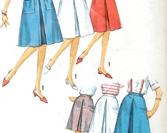 Simplicity 5282 sewing pattern // Skirt in Two Lengths in Proportioned Sizes