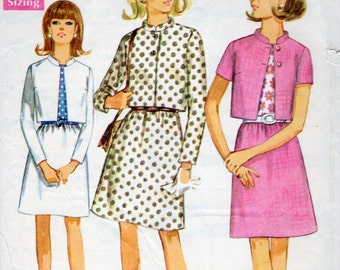 Simplicity 7490 sewing pattern // 1960s Suit and Blouse