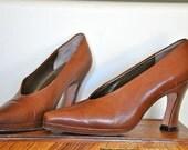 Vintage Via Spiga Italian Leather Pumps