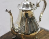 webster wilcox american rose silverplate teapot, excellent condition