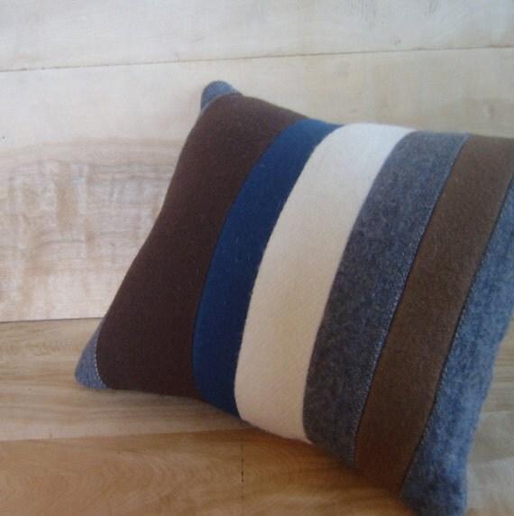 SALE - Pendleton Wool Pillow, 12x14