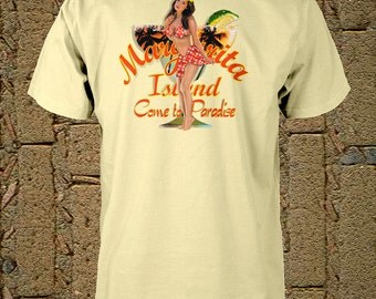 Margarita Shirt Margarita Island Shirt Small Medium Large or Xlarge