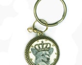 Royal Welsh Corgi Key Chain