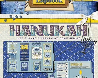 Hanukkah Scrap Lapbook, Instant Download