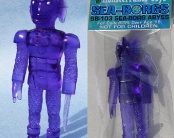 SEA-BORG ABYSS 4.5 inch Plastic Resin Figure