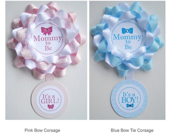 Mommy-to-Be Baby Shower Corsage/Grandma-to-Be Corsage