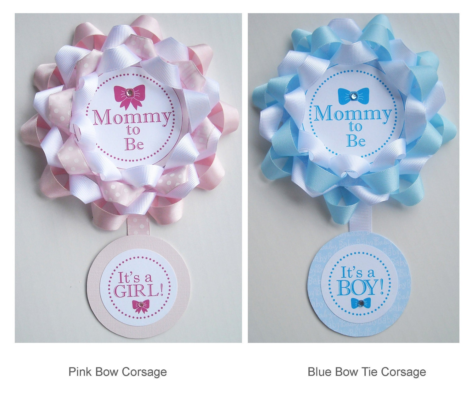 mommy to be baby shower corsage grandma to be corsage