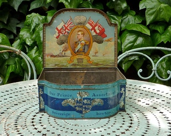 Our Prince Antique Toffee Tin British Royalty