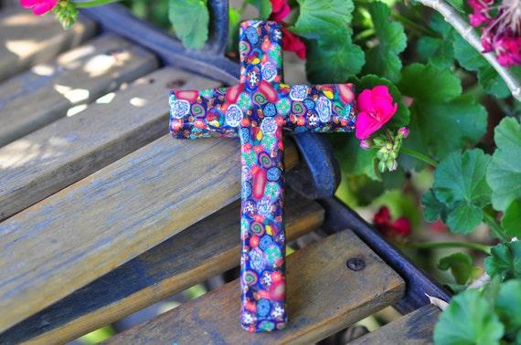Bohemian Cross Polymer Clay