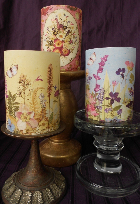 Flameless Candle Wrap for 4 h x 3 w flameless candle