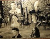 Buffy the Vampire Slayer Scoobies Xander Anya Spike Geekograph Limited Edition Metal Art
