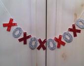 XOXO Banner -- Wedding Photo Prop / Decoration