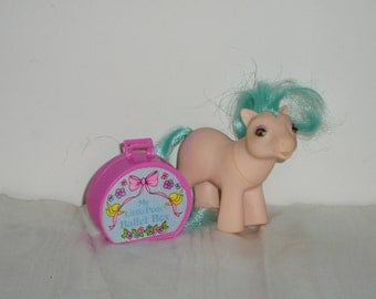 Vintage My Little Pony Baby Half Note Beddy Bye Eyes