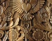 Rectangular hand carved wall panel , wood carving, TO BE ORDERED, Bulgarian renaissance style
