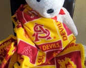 Arizona State Sun Devils Football Fleece Sports Baby Blanket