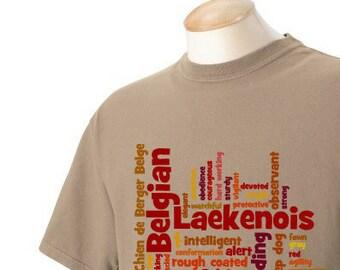 Belgian Laekenois Garment Dyed Cotton T-shirt