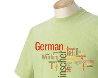 German Pinscher Garment Dyed Cotton T-shirt